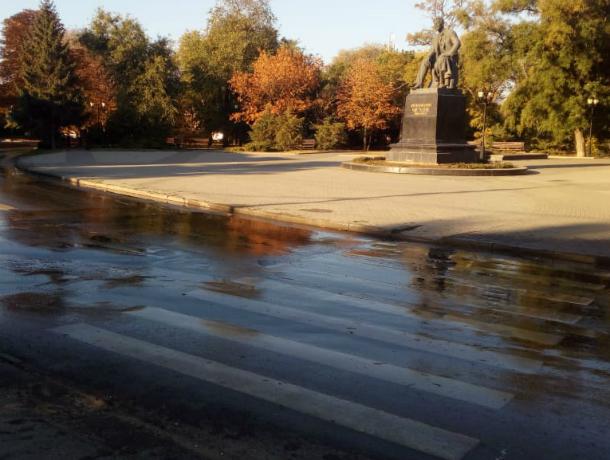 Антон Павлович Чехов стал свидетелем очередного потопа в Таганроге