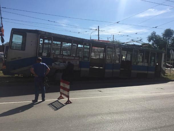 В Таганроге опять случился трамвайный коллапс
