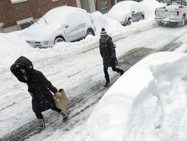 Синоптики прогнозируют обильные снегопады