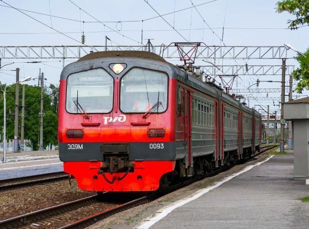 У электрички Ростов-Таганрог изменилось расписание