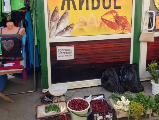 «Базар-вокзал» торгаши устроили на улицах Таганрога