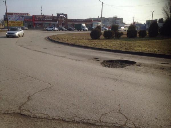 Угроза жизни на таганрогской дороге остается без внимания властей