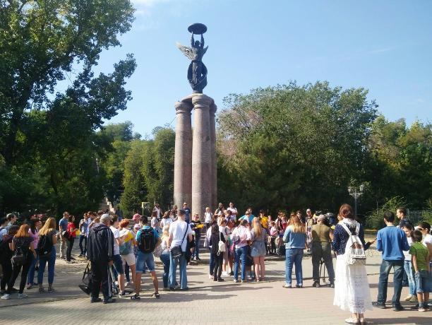 Рекордное количество таганрожцев прошло квест-экскурсию «Крымская война: места и герои»